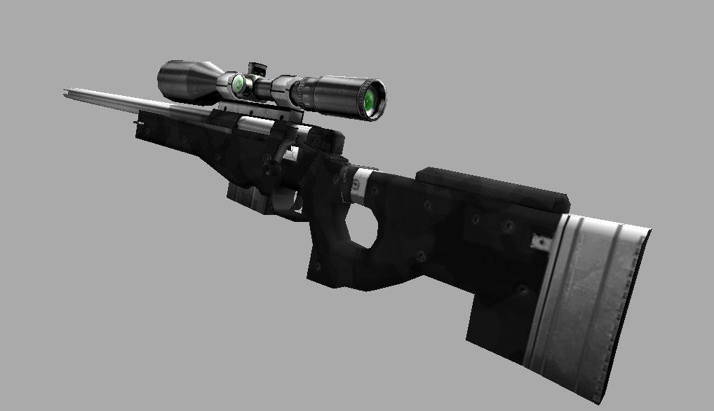 AWP Magnum Sniper Rifle + Hand
